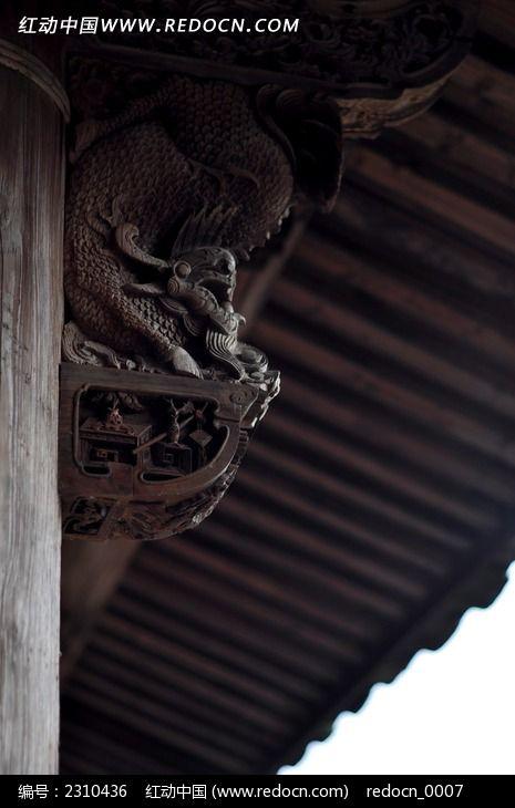 圣兽托木浮雕图片