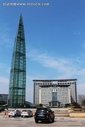 温州市政府世纪广场玻璃塔