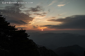 黄山日出风光
