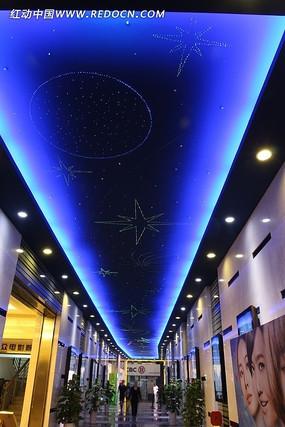 温州大众电影院星空走廊