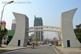 吉鸿昌纪念馆大门
