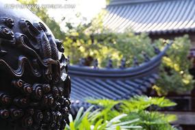 太平寺青铜香炉锦鲤