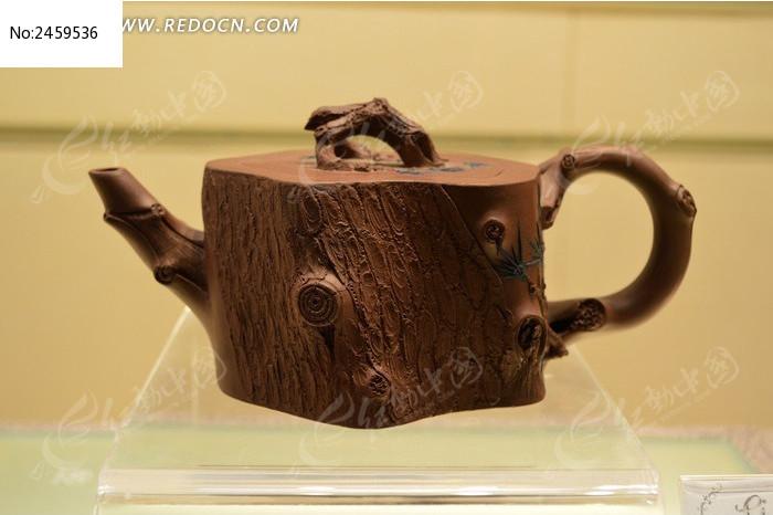 松段茶壶图片