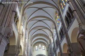 远东天主大教堂天顶壁画