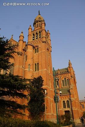 远东天主大教堂全景
