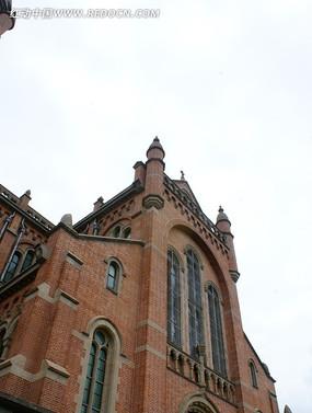 壮观的远东天主大教堂