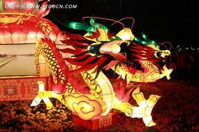 元宵节龙型花灯
