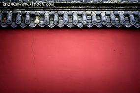 岱庙的古建红墙
