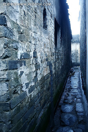 古镇中的小巷