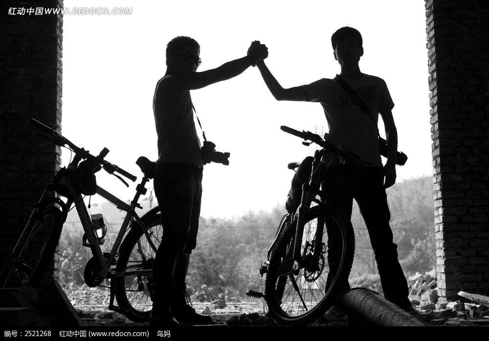 握手的人图片
