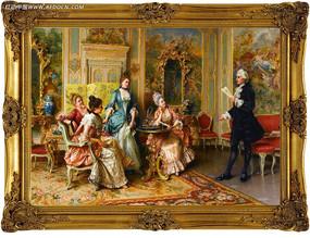古典人物油画