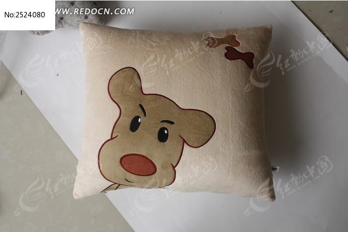 卡通米色靠枕图片
