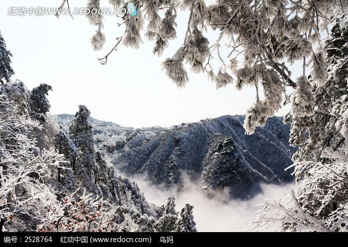 庐山雪山图片