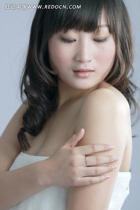 女性肌肤素材