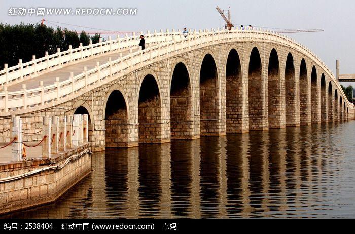 东阿县拱桥图片
