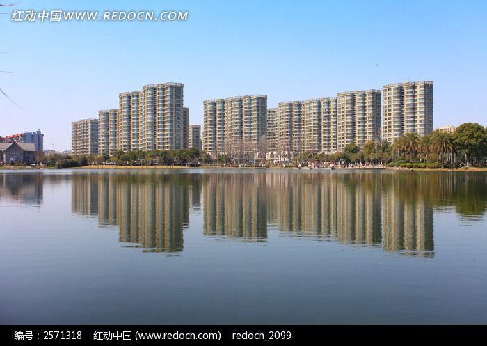 日湖美景图片