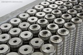 光亮的工业金属铸件