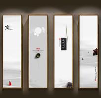 禅茶文化装饰画设计