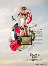 时尚潮流海报设计