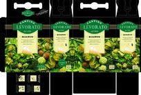 意大利威乐干红葡萄酒手提包装盒矢量设计稿展开图