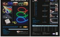 LED产品宣传单页