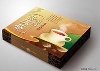 速溶普洱茶包装盒