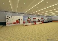 展厅设计效果图 3DMAX