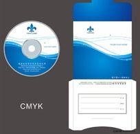 动感企业光盘设计模板CDR