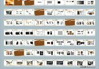 服装品牌视觉识别系统