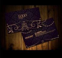 珠宝首饰名片设计欣赏 欧式经典个性名片