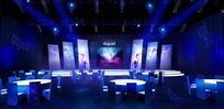 舞台设计 发布会舞台(psd max)
