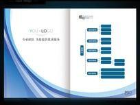 组织架构高档画册封面设计