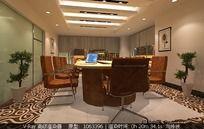 3D办公室模型和3D办公室效果图