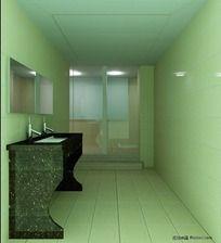 3D卫生间模型和3D卫生间效果图