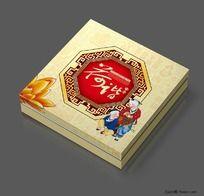 荷谐月饼盒设计