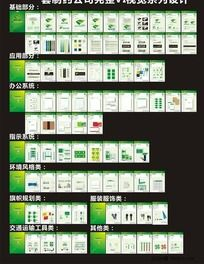 一套制药公司完整VI视觉系列设计