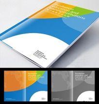 精美教育培训机构画册封面设计