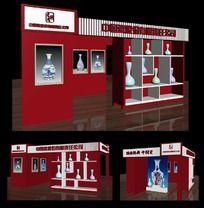 3D模型之特装展位模型下载 展台展厅模型下载