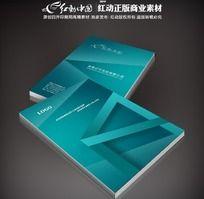 抽象空间 装饰装修公司画册封面