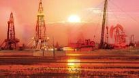 石油油井作业场景分层素材