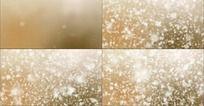 雪花飞舞的动态粒子视频素材
