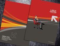 办公桌椅产品封面设计
