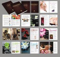 美容行业画册素材