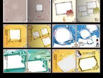 纪念册模版设计