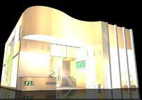 展台展厅3D设计模型