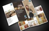 高档欧式地板产品宣传折页CDR