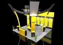 3D展厅展览设计模型