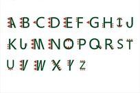 英文字体艺术字cdr矢量