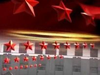 庆祝建党党建十八大党代会视频片头素材