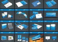 蓝色VI模板全套